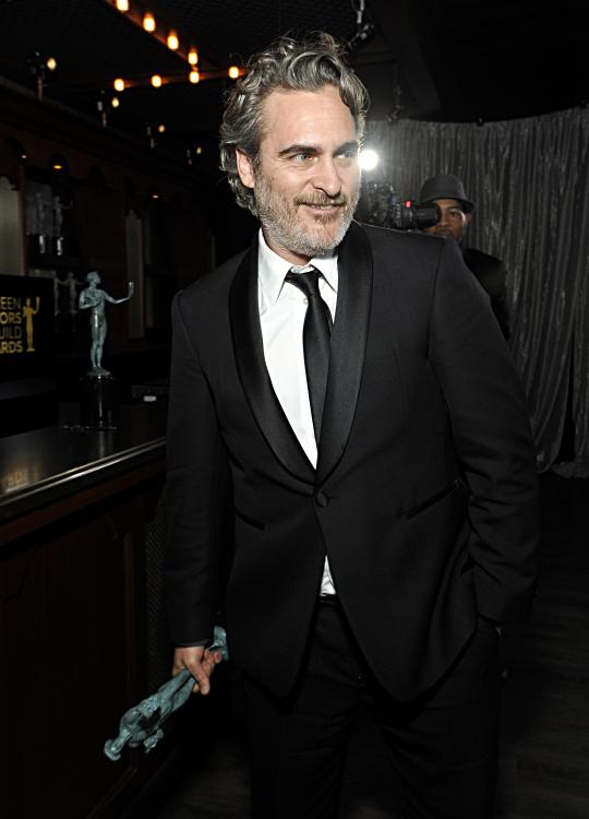 Joaquin Phoenix took home the BAFTA for Best Actor for Joker at BAFTAs 2020.