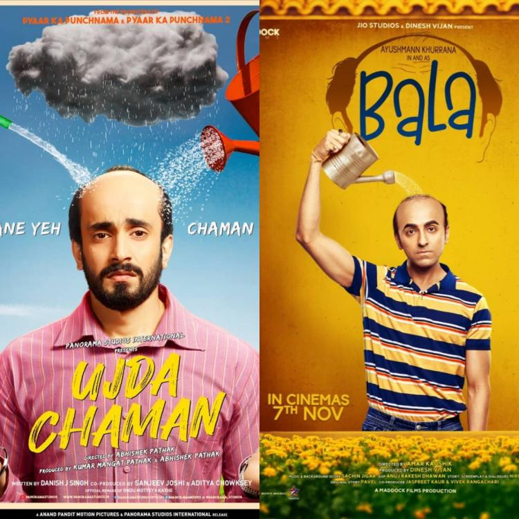 Ayushmann Khurrana starrer Bala to face copyright violation from the makers of Sunny Singh's Ujda Chaman