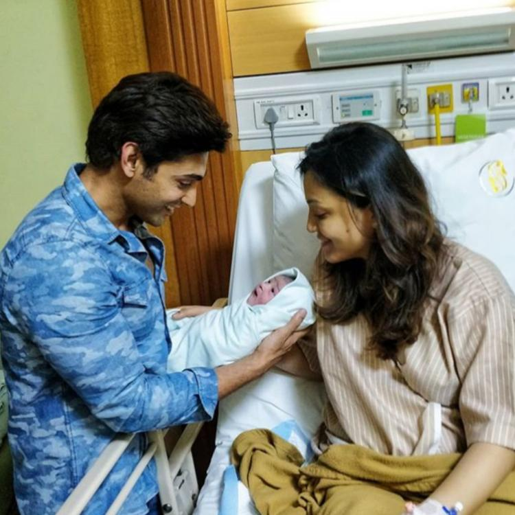 Ruslaan Mumtaz welcomes baby boy; Says 'My baby is a super hero born in difficult times'