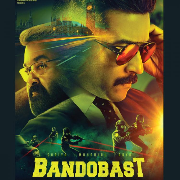Bandobast: SS Rajamouli unveils the intriguing FIRST LOOK of Mohanlal, Suriya starrer