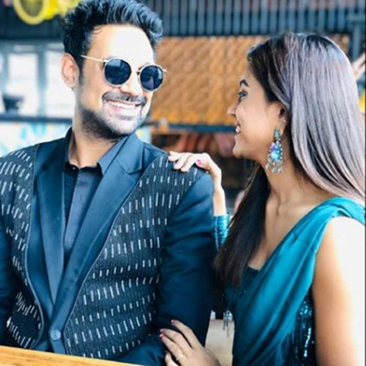 Bigg Boss Telugu 3 couple Varun Sandesh and Vithika Sheru look much in love on their first date post the show