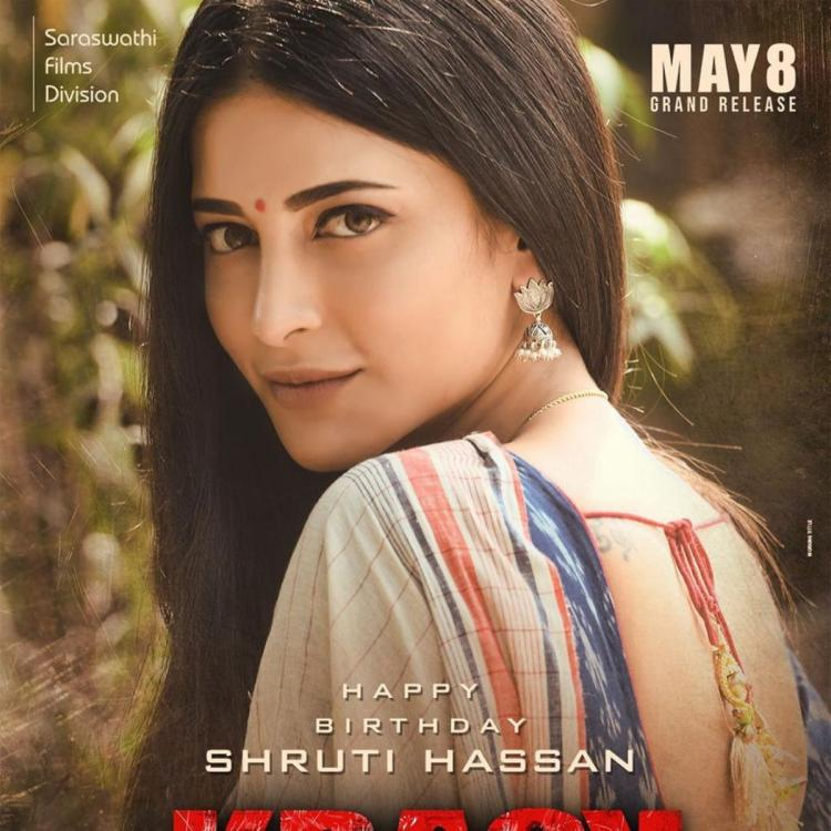 PHOTO: Shruti Haasan shares a stunning picture; Thanks the team of Krack for her 'lovely birthday present'