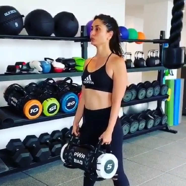 Kareena Kapoor Khan working out on her vacay will pump you to get fit; Watch Video