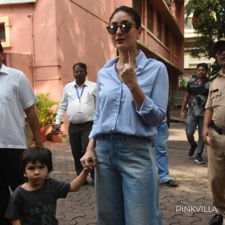 Maharashtra Assembly Elections 2019: Kareena Kapoor Khan heads out with son Taimur Ali Khan to cast her vote