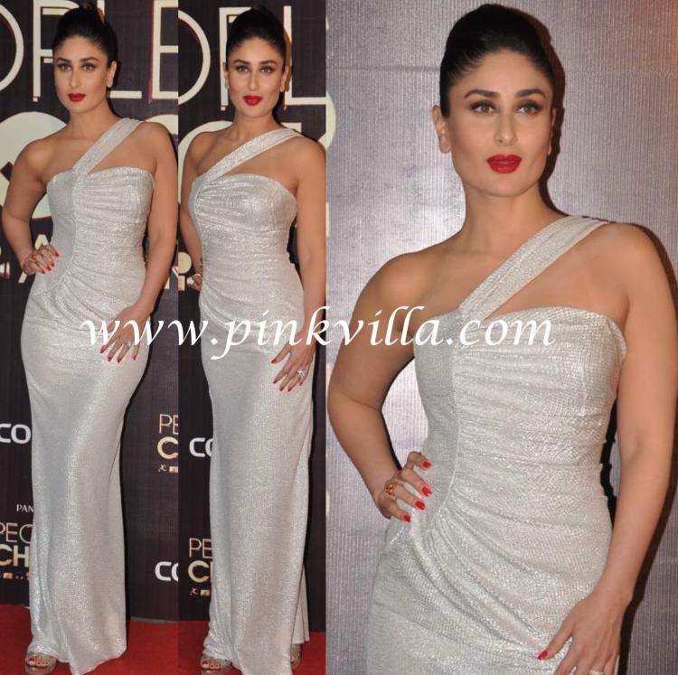 Kareena Kapoor in the one-shoulder David Meister gown - YaY or NaY ...