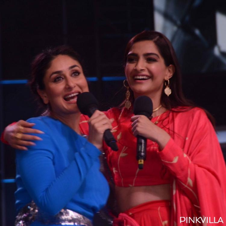 Kareena Kapoor Khan and Sonam Kapoor's CANDID PHOTOS from the sets of DID 7 are adorable; check them out
