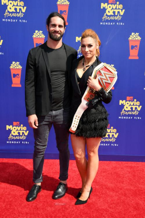 Seth Rollins and Becky Lynch have been dating since February 2019.