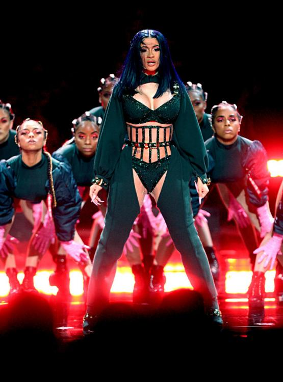 Bet Awards 2019 Cardi B Slays With Her Album Of The Year Win Her