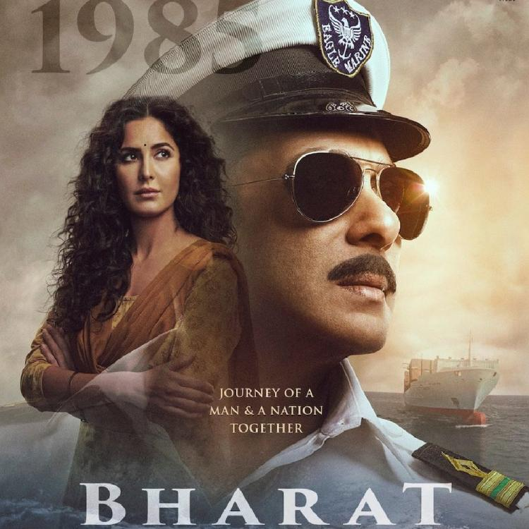 Salman Khan salutes the nation as a Marine in Bharat's fourth poster also featuring Katrina Kaif