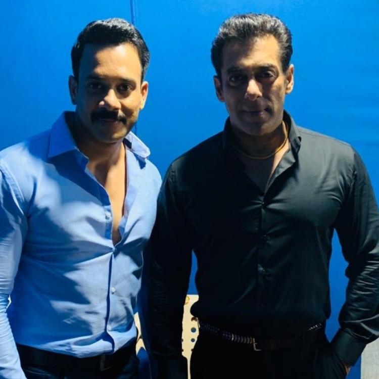 Salman Khan ropes in South actor Bharath Niwas for Radhe; latter says 'Dream come true to act with bhai'