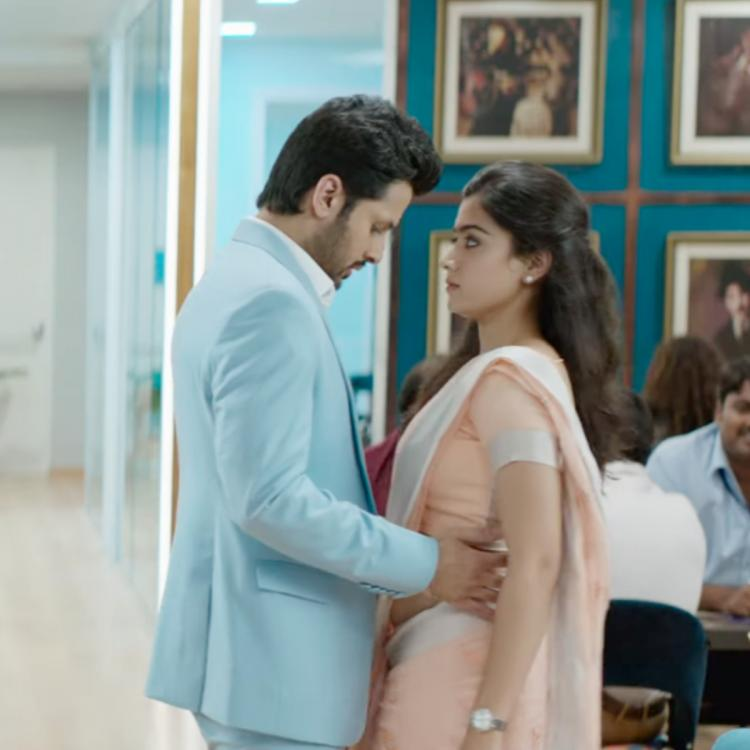 Bheeshma Teaser: Nithiin following Rashmika Mandanna as he is enchanted by her beauty will leave you confused