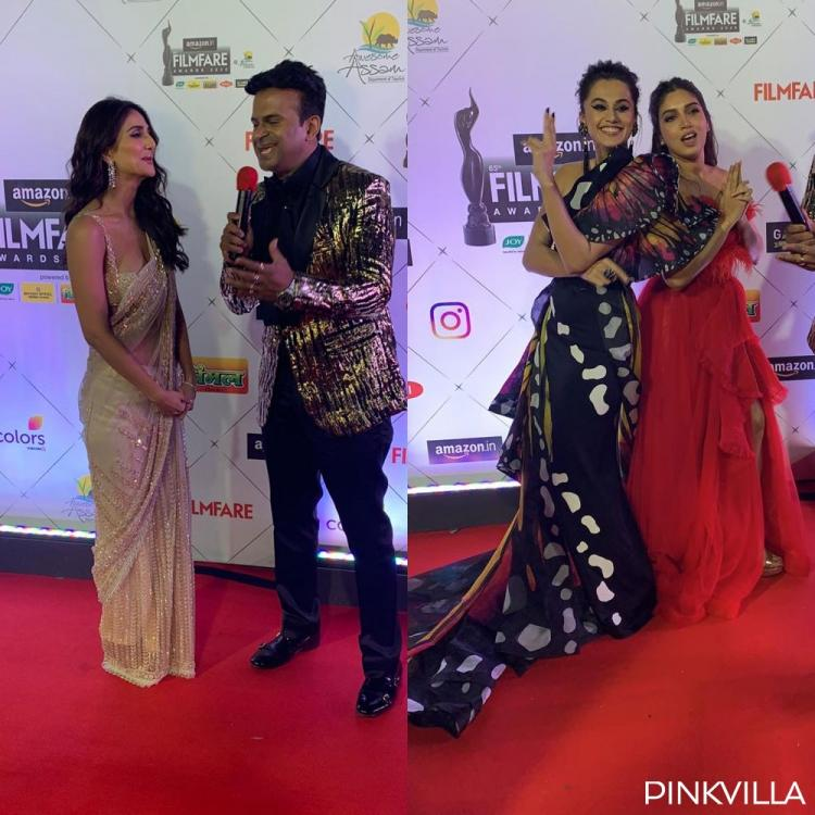 Filmfare Awards 2020: Taapsee Pannu, Bhumi Pednekar, Vaani & others amp up glam quotient on the red carpet