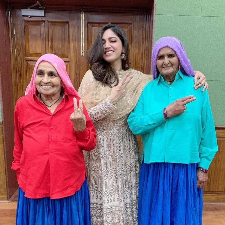 Bhumi Pednekar on what she learnt from Prakashi, Chandro Tomar: I learnt to not differentiate between people