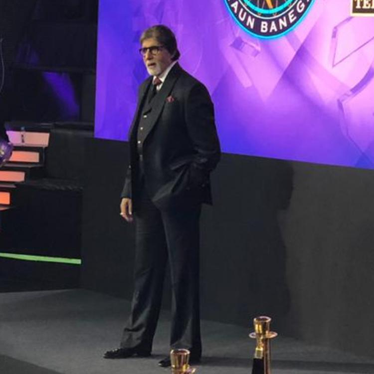 Kaun Banega Crorepati 11 Grand Launch LIVE UPDATE: Amitabh Bachchan makes a stylish entry; View pics