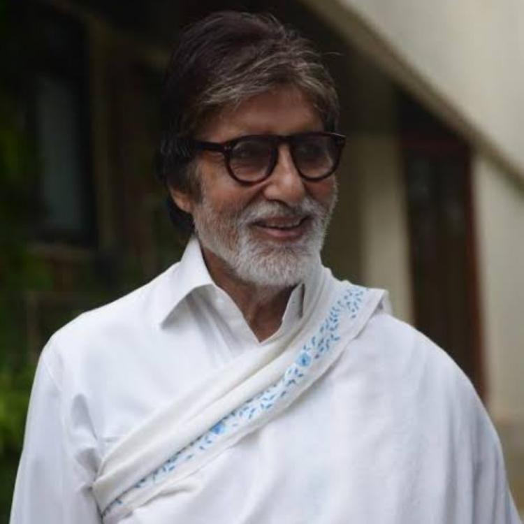 Amitabh Bachchan prays for his father in a church in Poland