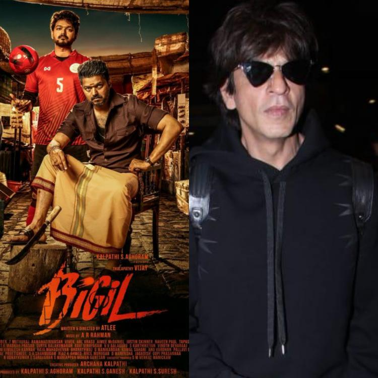 Shah Rukh Khan to play a cameo in Vijay's Bigil; Here's everything you need to know about the superstar's role