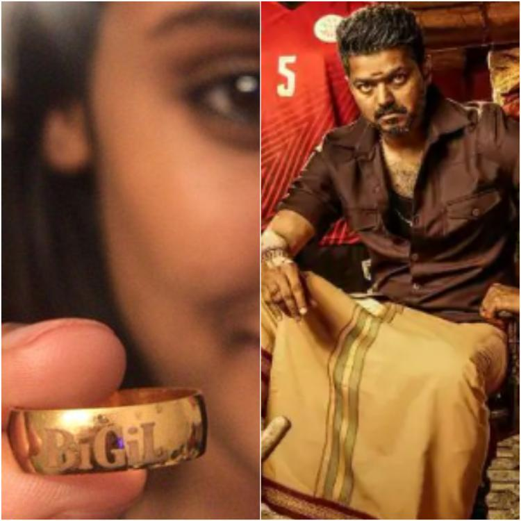 Thalapathy Vijay surprises his Bigil cast and crew by gifting them gold rings; See Pics