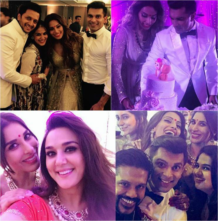 Ideas For Wedding Reception Without Dancing: #MonkeyWedding: Check Out The Inside Pics From Bipasha
