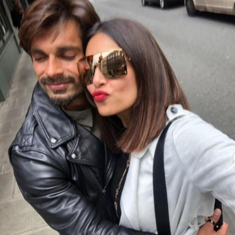 Bipasha Basu & husband Karan Singh Grover begin their anniversary countdown by holidaying in London; View pics