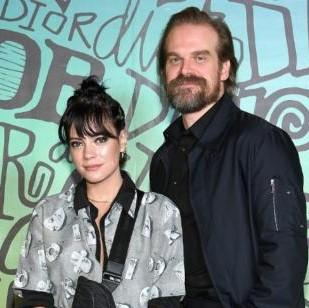 Lily Allen accidentally accepted she's married to boyfriend David Harbour