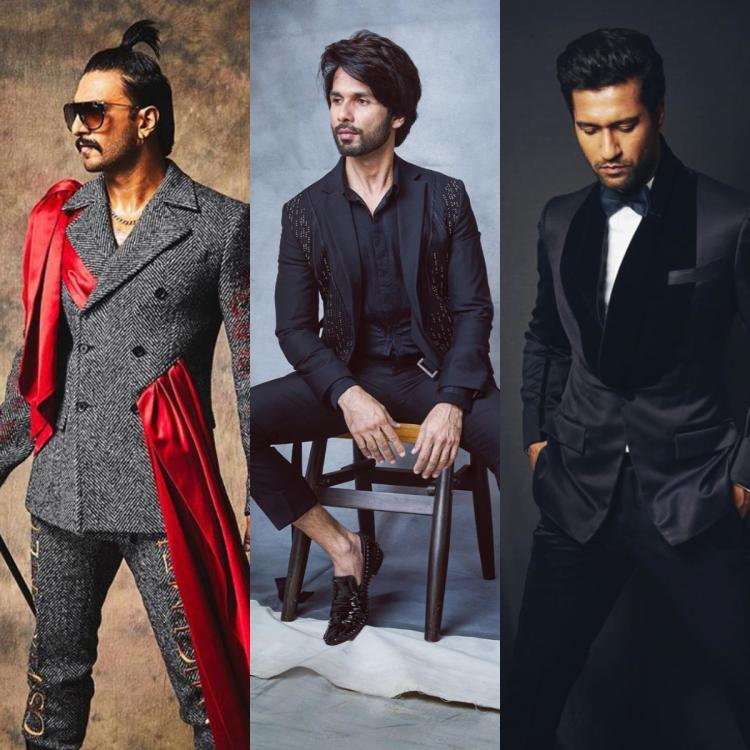 Does your ladylove like black? Take a cue from our Bollywood actors to suit up in the classy colour