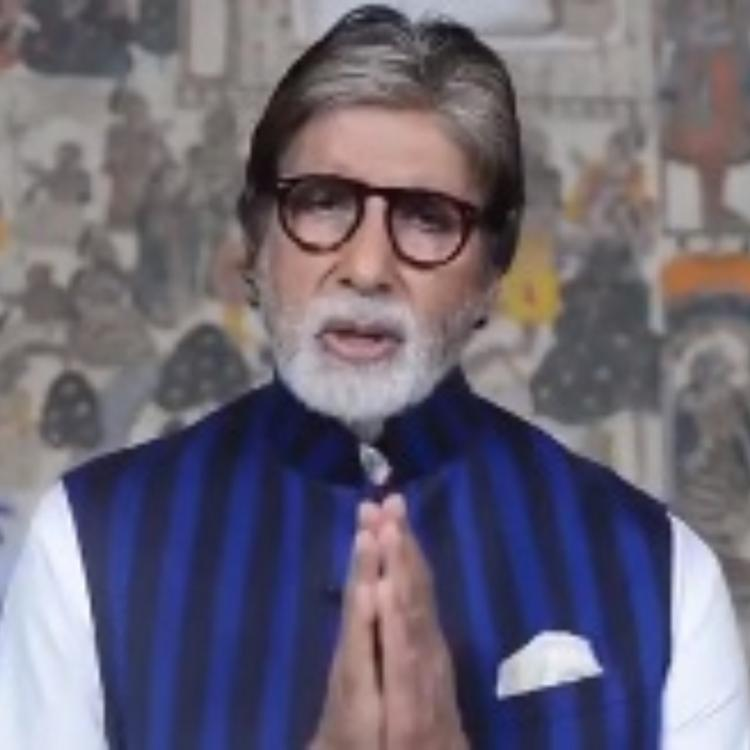 Amitabh Bachchan shares an important message about using toilets to curb the spread of Coronavirus