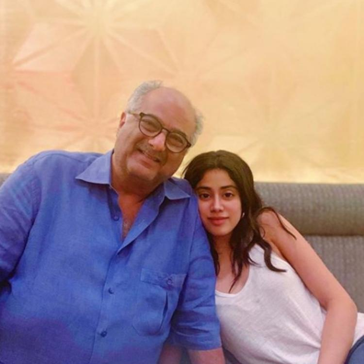 Janhvi Kapoor to collaborate with father Boney Kapoor for an upcoming movie; DEETS inside
