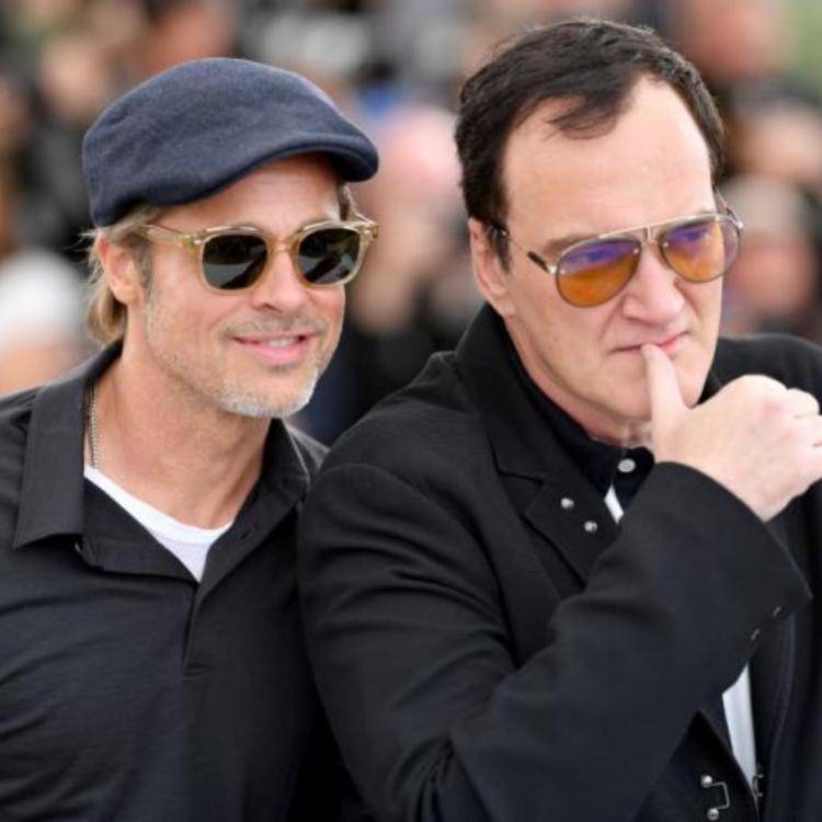 Brad Pitt,Quentin Tarantino,Once Upon A Time In Hollywood,Hollywood