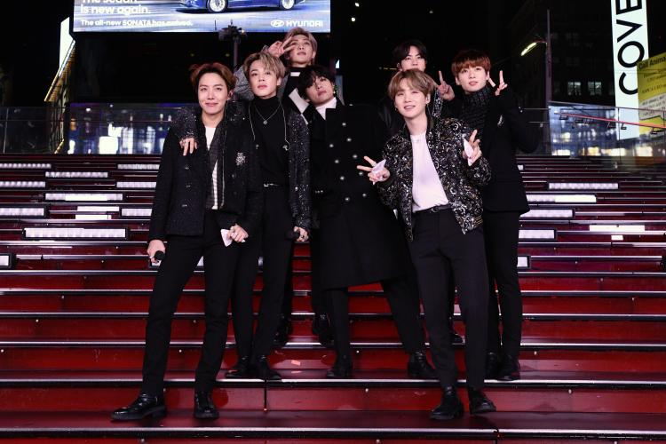 Map of the Soul: 7 hit #1 at the Billboard 200, a week after BTS' album dropped in February 2020.
