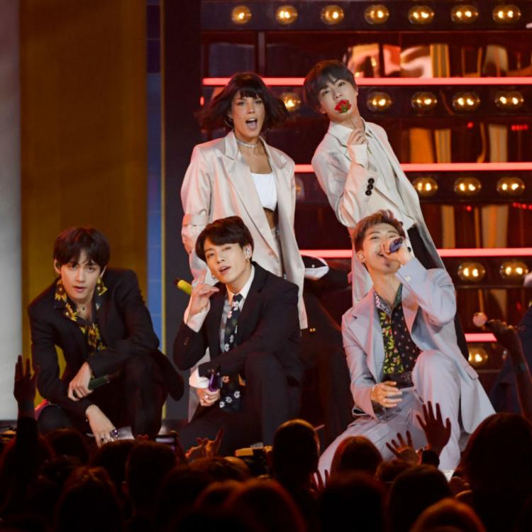 BTS gifts Halsey a thoughtful Christmas gift and it has a special story behind it; Find Out
