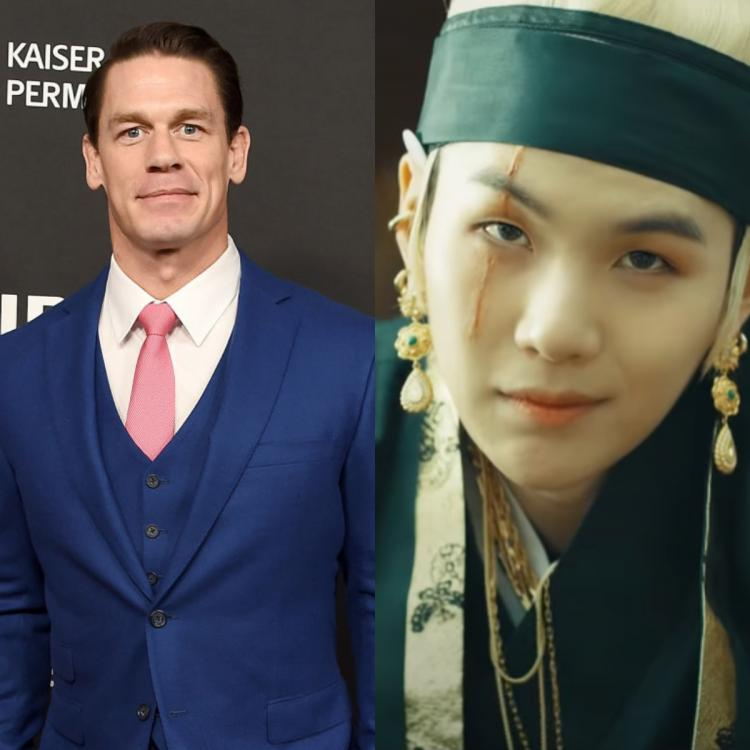John Cena gives BTS' Suga a shoutout after Yoongi drops new album Agust D2; Daechwita shatters records