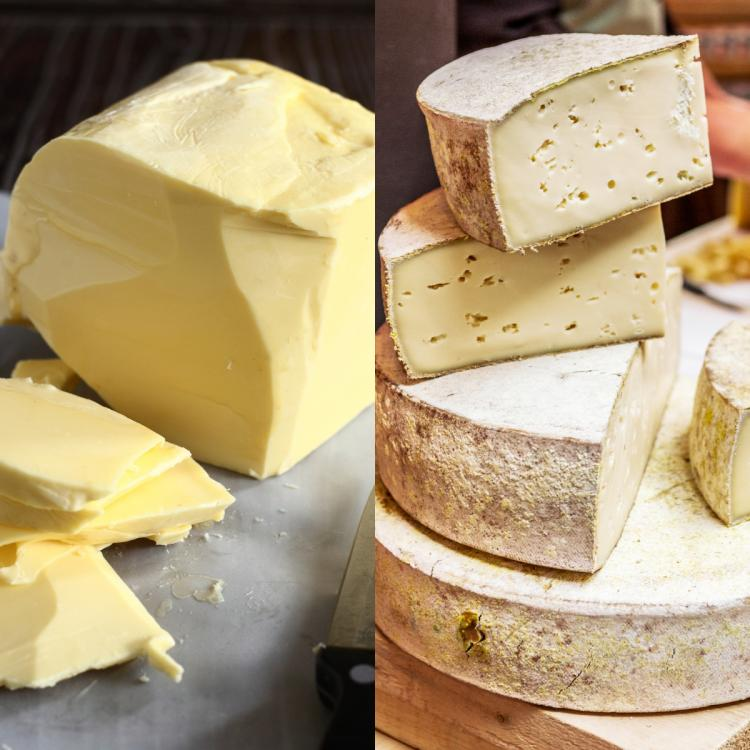 Butter vs. Cheese: What's the difference and which is healthier?