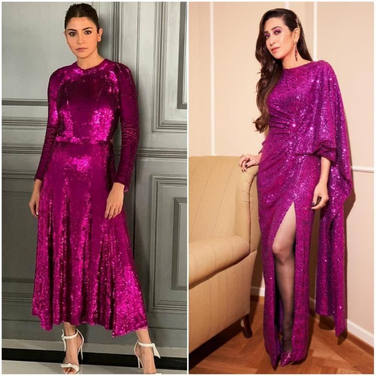 anushka sharma,prabal gurung,karisma Kapoor,Temperly London,Faceoffs,sequins,purple,shimmer