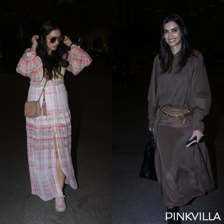 Cannes 2019: Huma Qureshi keeps it casual while Diana Penty dons a classy look as they jet off to France