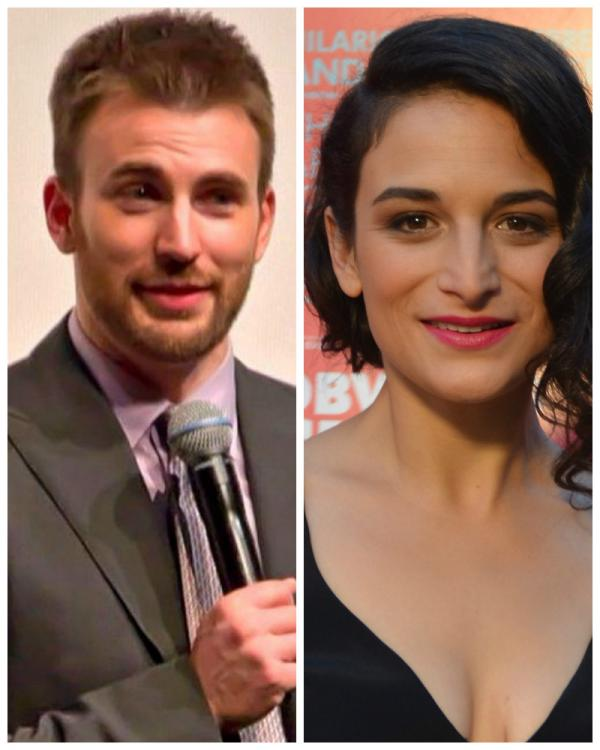 Is chris evans dating someone with a child
