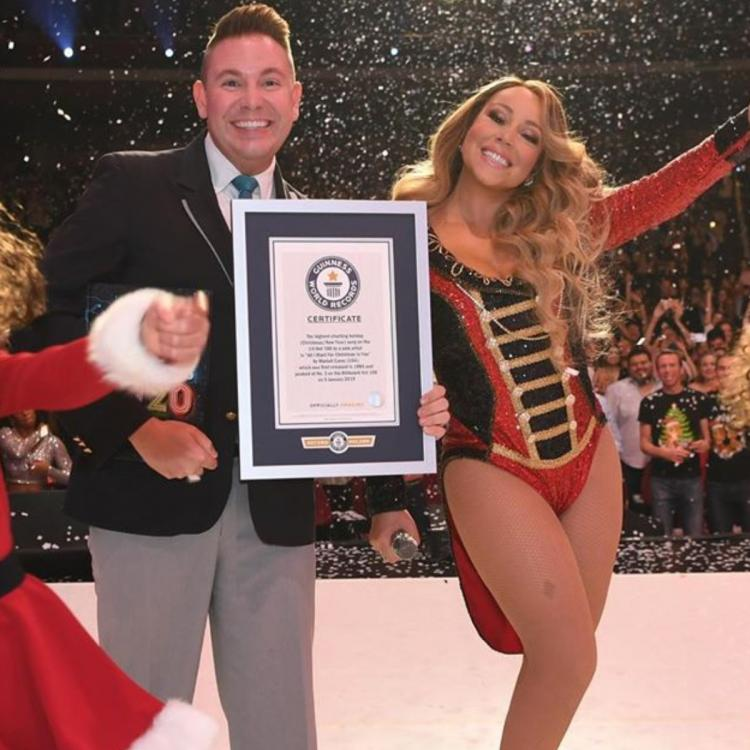 Mariah Carey's iconic song 'All I Want For Christmas Is You' scores 3 Guinness World Records ...