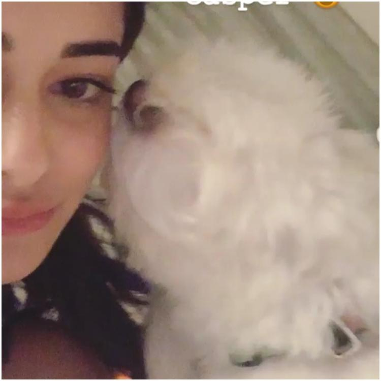 Ananya Panday boomerangs into the weekend with kisses from her puppy and it is beyond adorable; WATCH