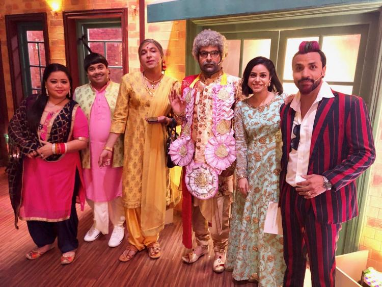 The Kapil Sharma Show: Chandan Prabhakar is back on the sets; shoots for a Holi special with team