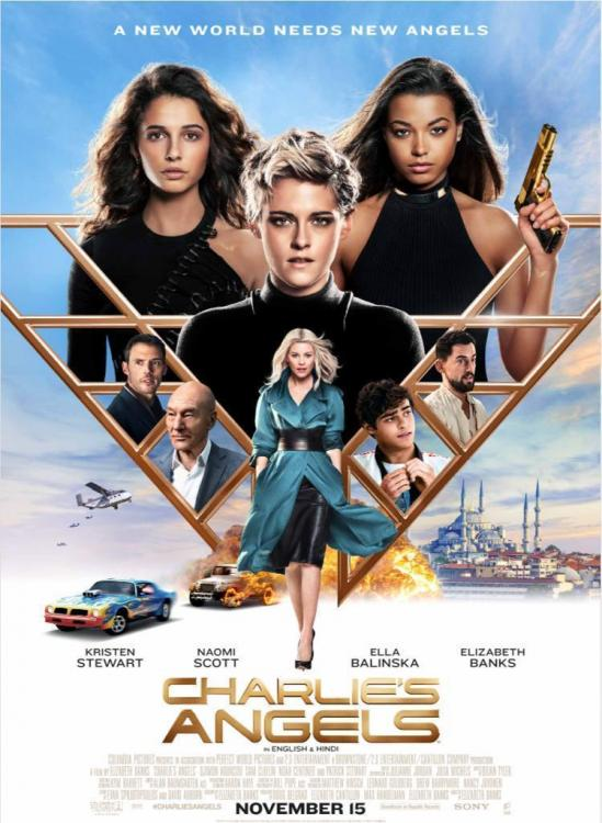 Charlie's Angels is slated to release in India on November 15, 2019.