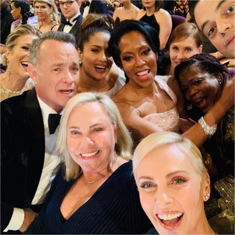 Charlize Theron keeps Ellen DeGeneres' tradition going at Oscars; Fast 9 star takes EPIC star studded selfie