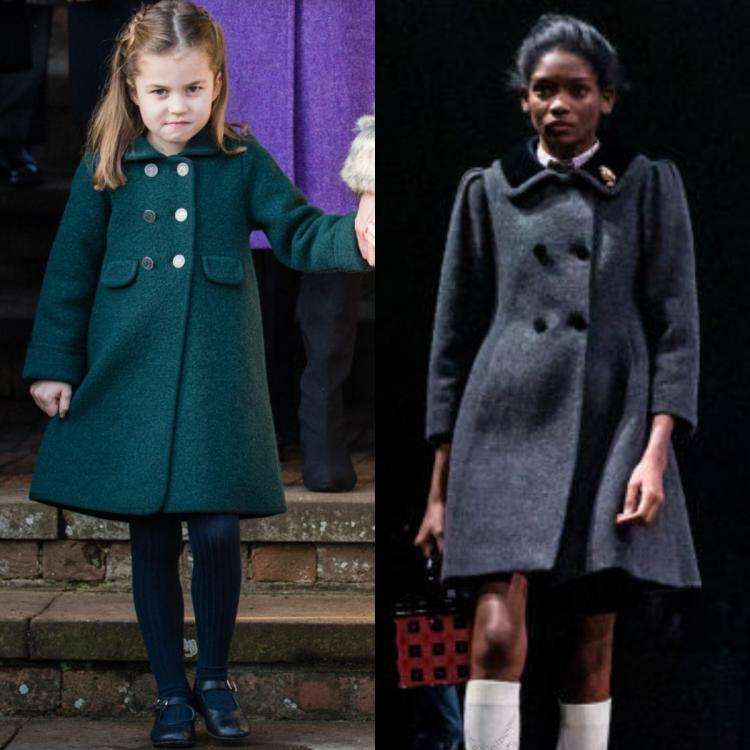 Is Princess Charlotte's iconic sophisticated style the inspiration behind Gucci's latest collection? Find out