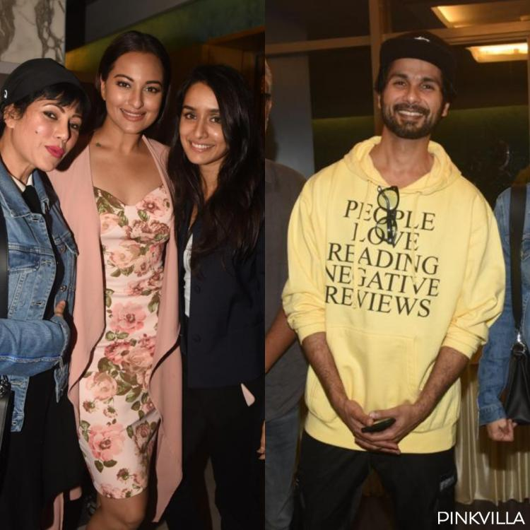 PHOTOS: Shraddha, Sushant, Shahid and Sonakshi among others attend Chhichhore's special screening