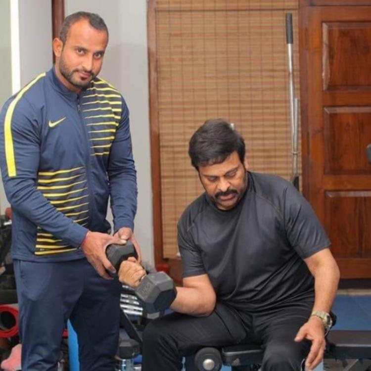 PHOTO: Superstar Chiranjeevi hits the gym for Koratala Siva directorial; Check it out