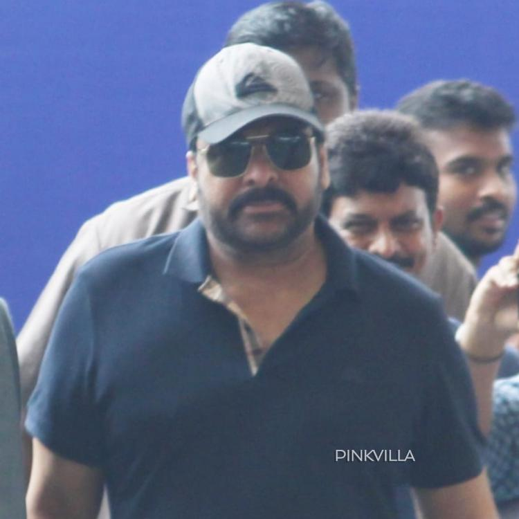 Airport Diaries: Sye Raa Narasimha Reddy star Chiranjeevi dresses in casual for his flight from Hyderabad