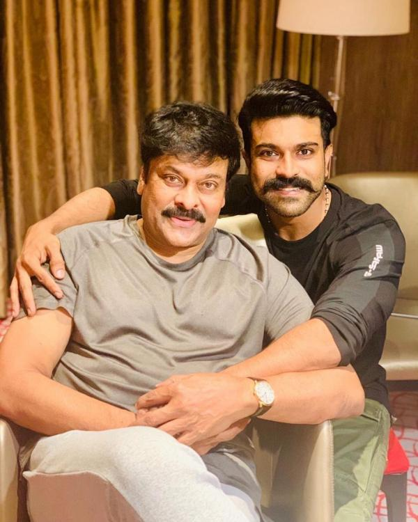 Ram Charan wishes father Chiranjeevi as Megastar turns 64; says 'You've been an inspiration'
