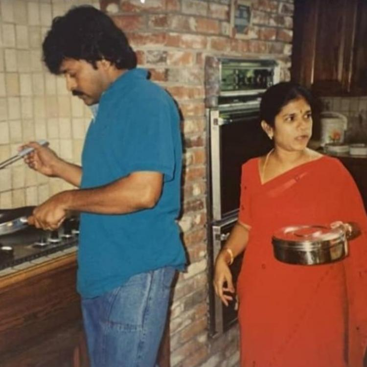 Chiranjeevi relives old vacation with wife and compares his 'Joyful' and 'Jail' full holidays; Check PHOTO