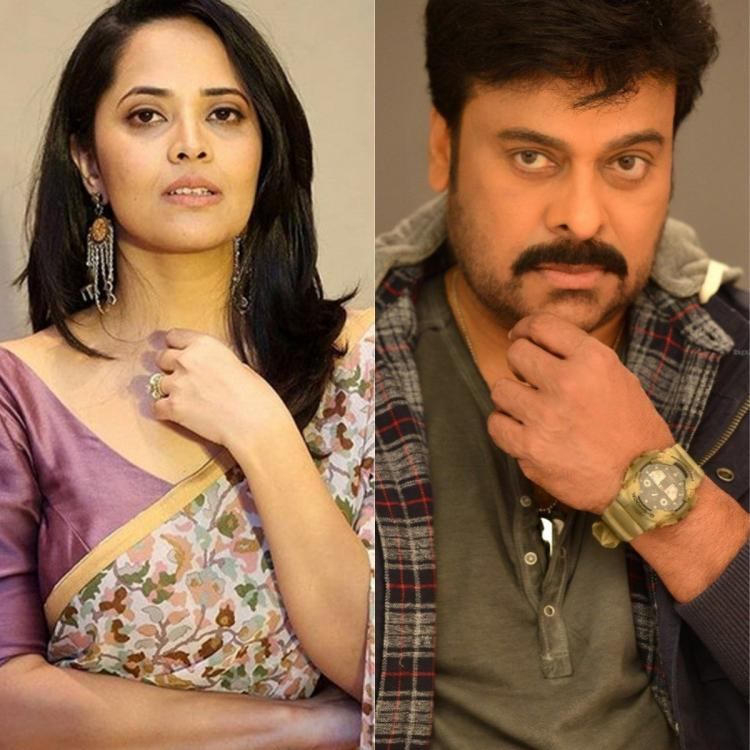 Chiranjeevi starrer Acharya to get TV anchor Anasuya for a song? Find out