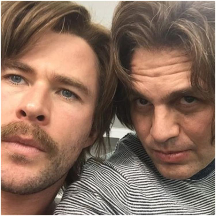 Avengers: Endgame star Mark Ruffalo shares a BTS picture with Chris Hemsworth and we can't stop laughing