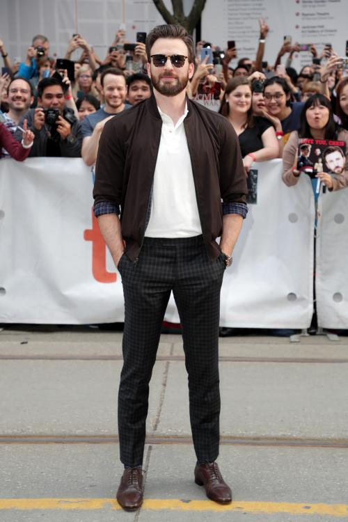 Chris Evans going to be seen next in a comic role in his upcoming film Knives Out