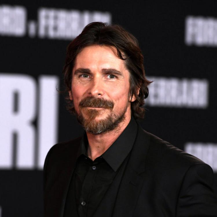 Christian Bale reveals he has a habit of laughing between scenes